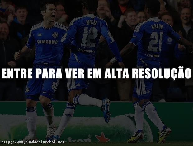 Chelsea, Comemorao, UEFA Champions League