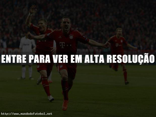 Ribery, Bayern, comemorao