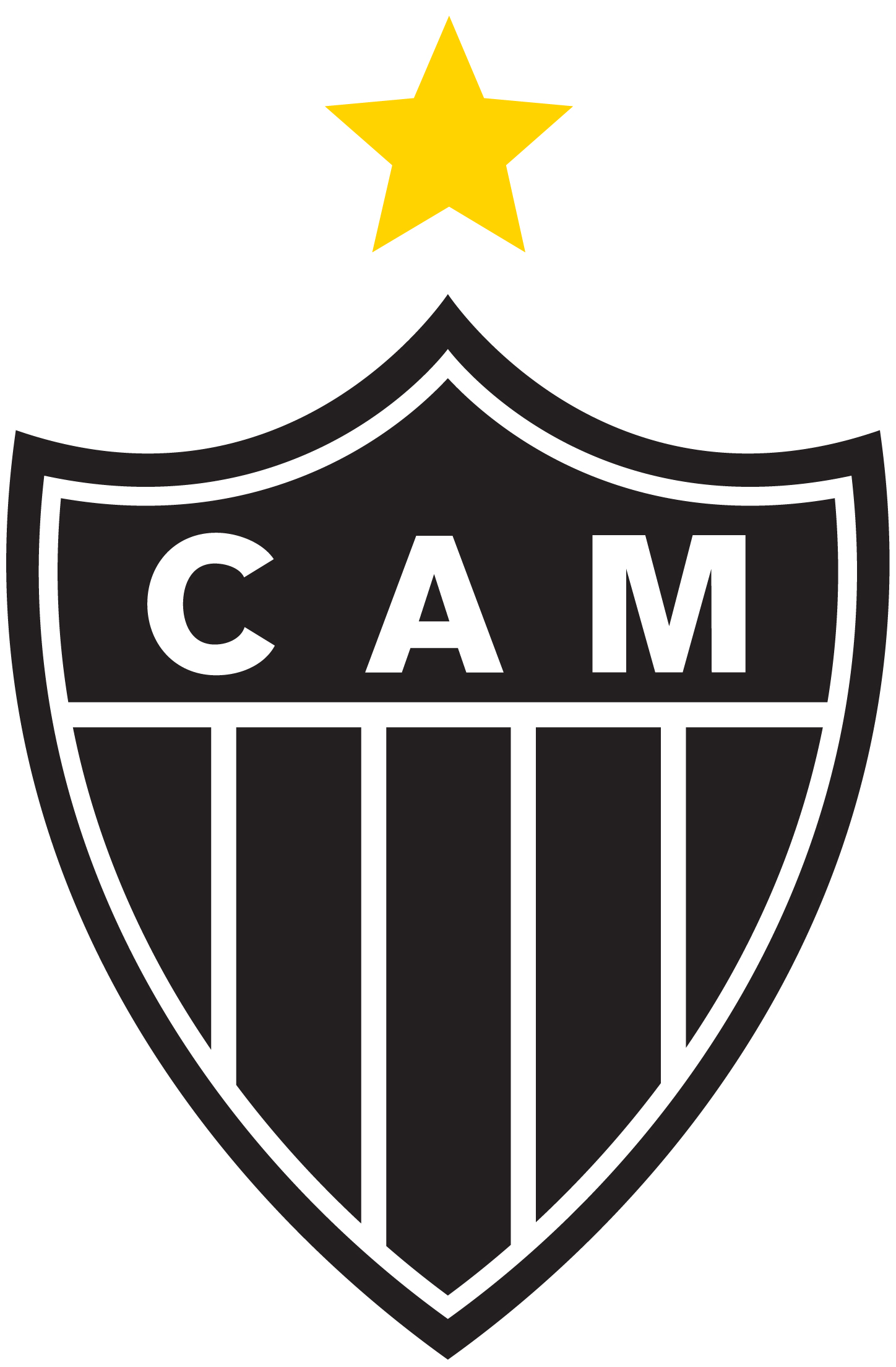 Atltico Mineiro, escudo