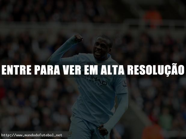 Manchester City, comemorao, Yara Toure