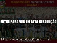poster fluminense campeao brasileiro 2012