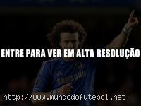 David Luiz converteu pnalti e abriu o placar para o Chelsea. (Crditos Imagem: esportes.uol.com.br)