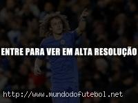 David Luiz, Chelsea comemorao