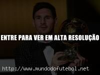 Messi, Bola de Ouro, Ballon D'or FIFA
