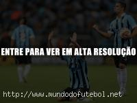 Elano, comemorao, Grmio, Libertadores
